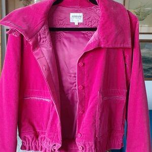 ARMANI COLLEZIONI corduroy jacket